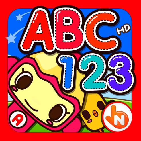 ABC 123 Reading Writing Practice HD